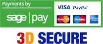 'We use Sage Pay to collect/process transaction information' Click here for more information